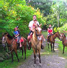 Horseback Riding in Santa Teresa