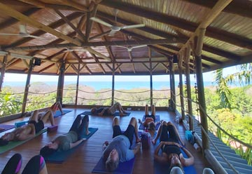 Santa Teresa Yoga Session